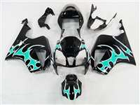 Honda VTR 1000 / RC 51 / RVT 1000 Teal Tribal Fairings | NH10006-21