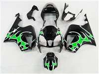 Honda VTR 1000 / RC 51 / RVT 1000 Green Tribal Fairings | NH10006-22