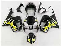 Yellow Tribal Honda VTR 1000 / RC 51 / RVT 1000 Motorcycle Fairings | NH10006-23