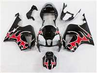 Red Tribal Honda VTR 1000 / RC 51 / RVT 1000 Motorcycle Fairings | NH10006-24