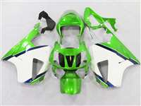 Honda VTR 1000 / RC 51 / RVT 1000 Green/White Fairings | NH10006-30