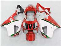 Honda VTR 1000 / RC 51 / RVT 1000 Red/White Fairings | NH10006-31