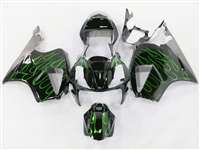 Honda VTR 1000 / RC 51 / RVT 1000 Green Flame Fairings | NH10006-32