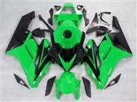 2004-2005 Honda CBR 1000RR OEM Green/Black Fairings | NH10405-35
