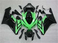 2004-2005 Honda CBR 1000RR Black/Green OEM Style Fairings | NH10405-42