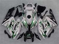 2004-2005 Honda CBR 1000RR Green Fire/White Fairings | NH10405-44