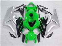 2004-2005 Honda CBR 1000RR Green/Silver/Black Fairings | NH10405-46