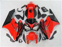 2004-2005 Honda CBR 1000RR Black/Red OEM Style Fairings | NH10405-48