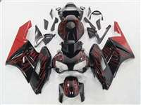 2004-2005 Honda CBR 1000RR Red Flames Fairings | NH10405-51