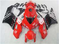 2004-2005 Honda CBR 1000RR Red/Black Fairings | NH10405-61