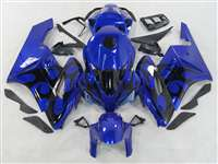 2004-2005 Honda CBR 1000RR Blue/Black Tribal Fairings | NH10405-88