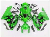 2004-2005 Honda CBR 1000RR Mean Green/Black Tribal Fairings | NH10405-89