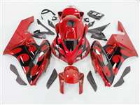 2004-2005 Honda CBR 1000RR Red/Black Tribal Fairings | NH10405-90