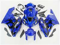 2004-2005 Honda CBR 1000RR Blue/Black Tribal Fairings | NH10405-91