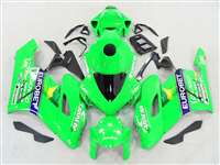 2004-2005 Honda CBR 1000RR Neon Green Eurobet Fairings | NH10405-96