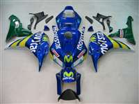2006-2007 Honda CBR 1000RR Movistar Fairings | NH10607-1