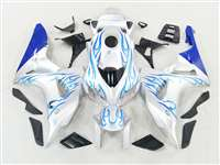 2006-2007 Honda CBR 1000RR Blue Flame/White Fairings | NH10607-100