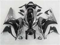 2006-2007 Honda CBR 1000RR Black/Silver Accents Fairings | NH10607-101
