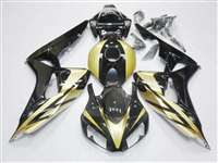 2006-2007 Honda CBR 1000RR Candy Gold/Black Fairings | NH10607-106