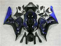 2006-2007 Honda CBR 1000RR Ice Blue Flame Fairings | NH10607-12