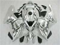 2006-2007 Honda CBR 1000RR Silver Tribal Fairings | NH10607-13