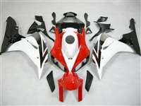 2006-2007 Honda CBR 1000RR White/Red OEM Style Fairings | NH10607-2