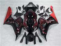 2006-2007 Honda CBR 1000RR Red Fire Fairings | NH10607-20