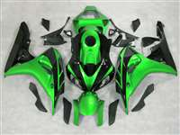 2006-2007 Honda CBR 1000RR Green Metallic/Black Fairings | NH10607-21