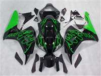2006-2007 Honda CBR 1000RR Green Fire Fairings | NH10607-27