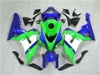 2006-2007 Honda CBR 1000RR Green/Blue Fairings | NH10607-29