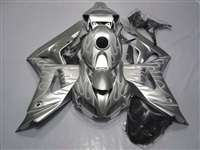 2006-2007 Honda CBR 1000RR Silver Flamed Fairings | NH10607-38