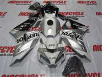 2006-2007 Honda CBR 1000RR Repsol Silver/Black Fairings | NH10607-39