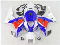 2006-2007 Honda CBR 1000RR Blue/Red/White Fairings | NH10607-44
