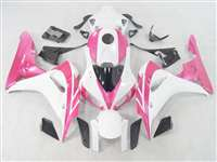 2006-2007 Honda CBR 1000RR Pink/White Fairings | NH10607-49