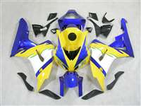 2006-2007 Honda CBR 1000RR Yellow/Blue Fairings | NH10607-5