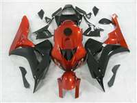 2006-2007 Honda CBR 1000RR Gloss Black/Orange Fairings | NH10607-55