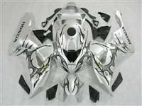 2006-2007 Honda CBR 1000RR Silver Tribal Fairings | NH10607-66