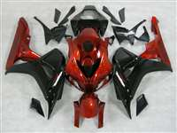 2006-2007 Honda CBR 1000RR Gloss Black/Red Fairings | NH10607-70