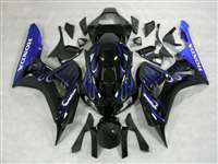 2006-2007 Honda CBR 1000RR Ice Blue Flame Fairings | NH10607-73