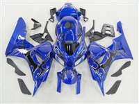 2006-2007 Honda CBR 1000RR Blue/Black Tribal Fairings | NH10607-95