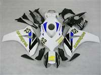 2008-2011 Honda CBR 1000RR Hannspree Blue Fairings | NH10811-10