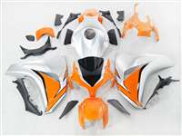 2008-2011 Honda CBR 1000RR Orange/Silver Motorcycle Fairings | NH10811-13
