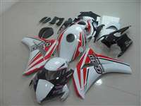 2008-2011 Honda CBR 1000RR Bodywork White/Red Race Fairings | NH10811-16