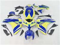 2008-2011 Honda CBR 1000RR Blue/Yellow Motorcycle Fairings | NH10811-23