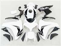 2008-2011 Honda CBR 1000RR White/Black Motorcycle Fairings | NH10811-26