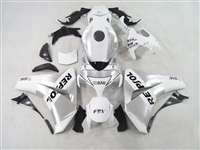 2008-2011 Honda CBR 1000RR Repsol White/Silver Motorcycle Fairings | NH10811-27