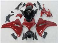 2008-2011 Honda CBR 1000RR Red/Black Tribal Fairings | NH10811-38