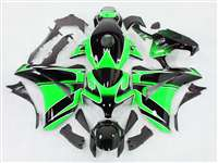2008-2011 Honda CBR 1000RR Green Metallic/Black Fairings | NH10811-45