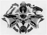 2008-2011 Honda CBR 1000RR Silver/Black Fairings | NH10811-47