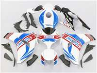 2008-2011 Honda CBR 1000RR White/Blue Castrol Motorcycle Fairings | NH10811-51
